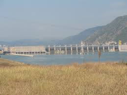 Lifting gates used in Barrage of Irrigation Project