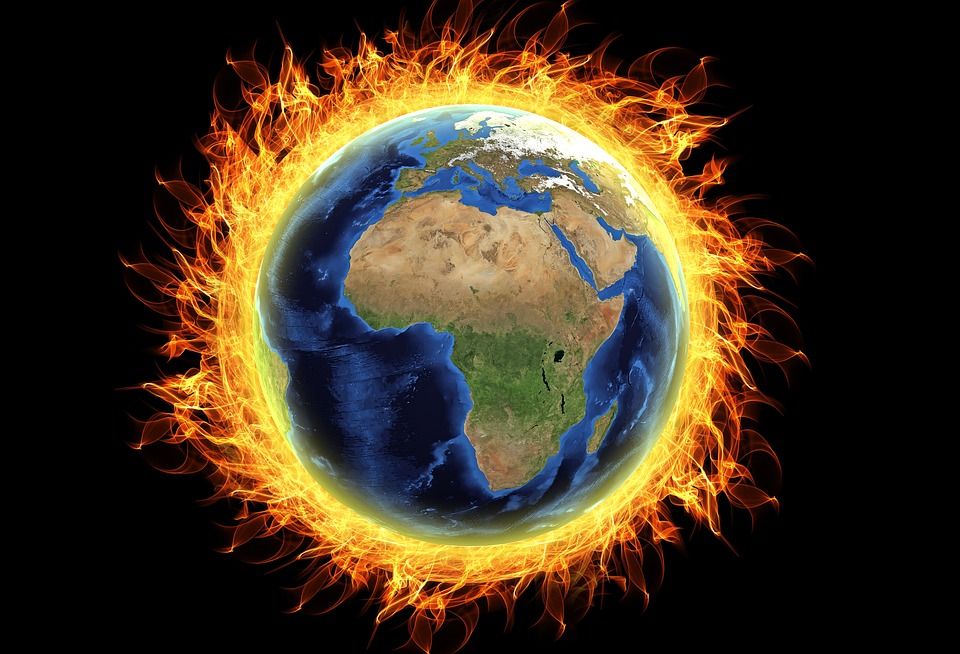 Heating of Earth Atmosphere due to Global warming