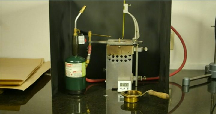 Test Of Bitumen Composition And