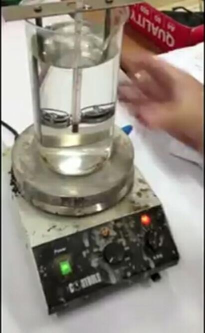 ring and ball apparatus set-up