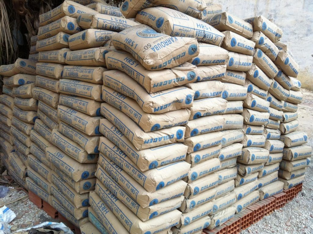 Storage of Cement Bag