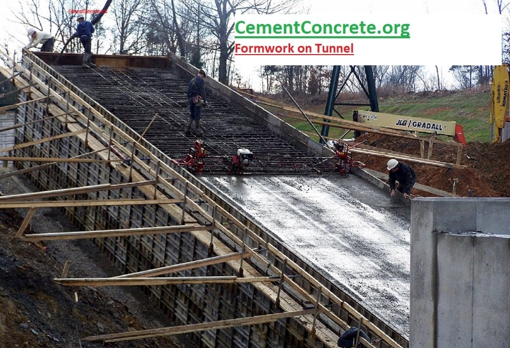 Types Of Formwork Shuttering For Concrete Construction And Application Cement Concrete