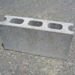 Hollow concrete blocks 3 Core type