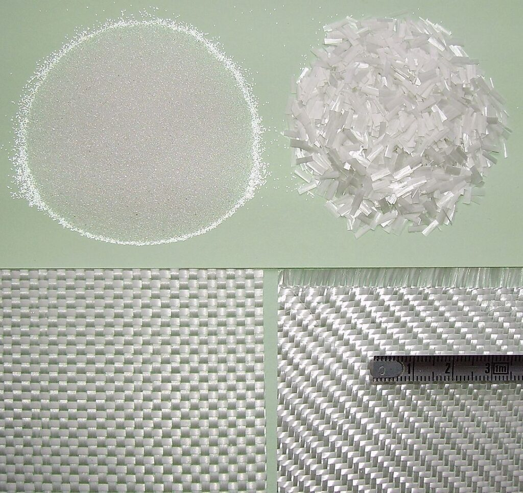 Glass Fiber used for - Glass_reinforcement concrete
