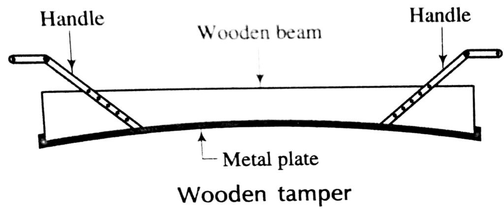 Wooden Tamper for concrete surface Compaction and Finishing