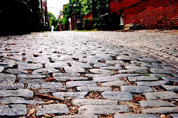 Paving Bricks, Brick pavement