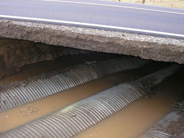 subsurface drainage system