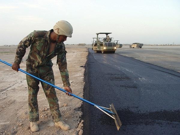 pavement Strengthening process